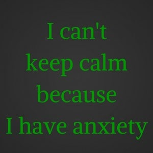 Anxiety Breaking the Stigma