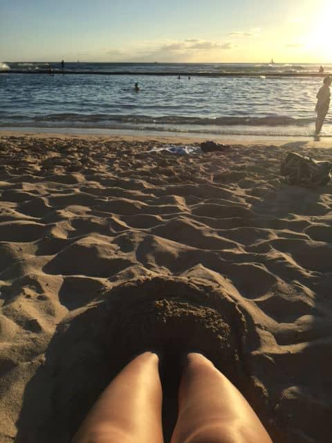 Waikiki Beach Sand