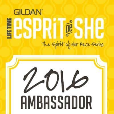 2016 Gildan Esprit de She race series.
