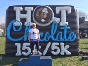 """Hot Chocolate 5K: My First """"Race"""" Back"""