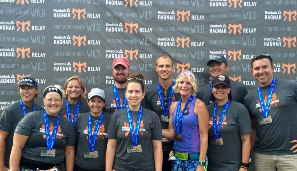 Twisted Blisters Great River Ragnar Team