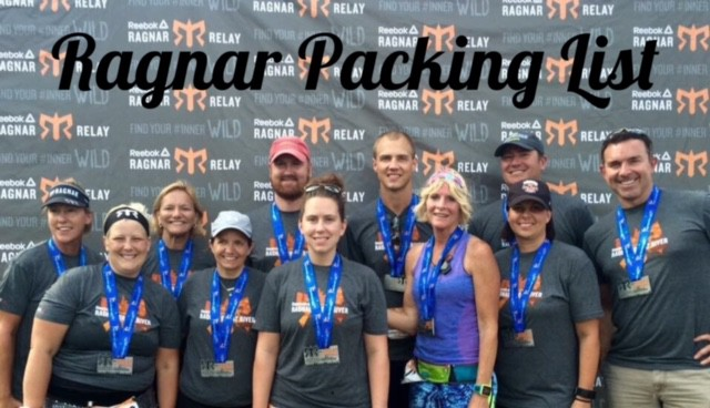Packing List for a Ragnar