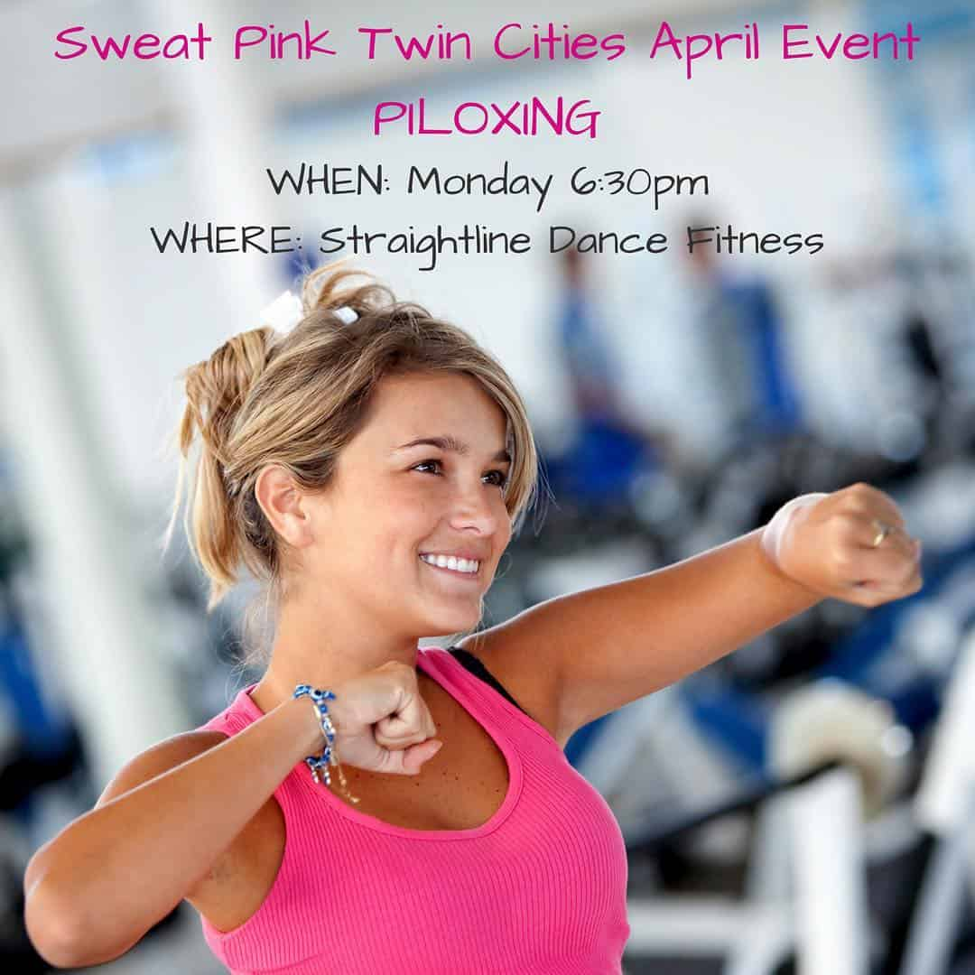 Sweat Pink Twin Cities Piloxing